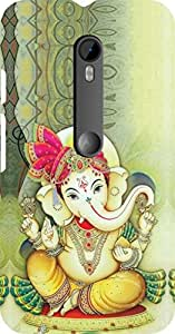 Dot Print Back Cover For Moto G Turbo Edition Ganesh Bhagvan Printed Case