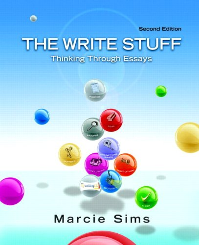 The Write Stuff: Thinking Through Essays (with...