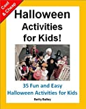 img - for Kids Activities: Cool (and Cheap) Halloween Activities for Kids: 35 Fun & Easy Halloween Activities for Kids (Preschool Activities) book / textbook / text book