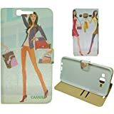For Samsung Galaxy Grand I9082 / 9082 Flip Cover Case : MACC Designer Fancy Premium Flip Cover Case For Samsung...