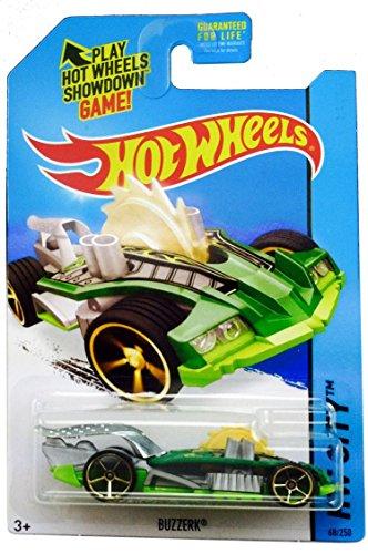 2014 Hot Wheels Die Cast Buzzerk-green