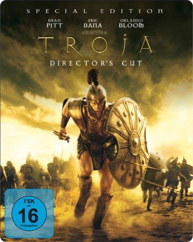 Troja - Director's Cut (limitiertes Steelbook, exklusiv bei Amazon.de) [Blu-ray]