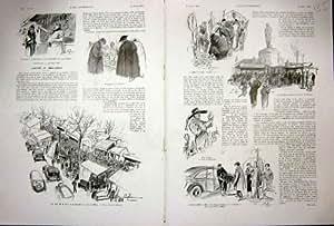 Copie 1936 de Français de la Vie de Paris France de Croquis de Bric-à-brac