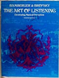 img - for The art of listening;: Developing musical perception, book / textbook / text book
