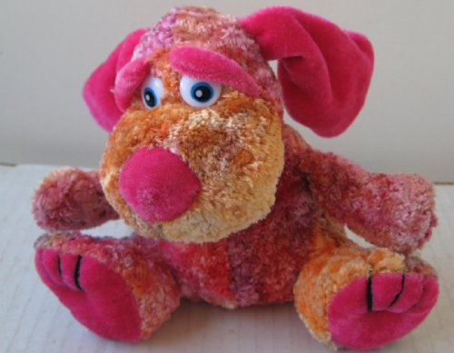 Multi-color Dog Stuffed Animal Plush Toy - 5 inches