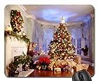 Christmas Tree Mouse Pad, Mousepad (Houses Mouse Pad)