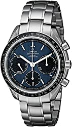 Omega Men's 32630405003001 Speed Master Analog Display Automatic Self-Wind Silver-Tone Watch
