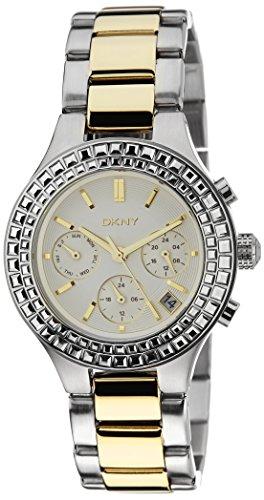 DKNY HOLIDAY 14 ny2260 Silver Steel Bracelet & Case Acrylic Women's Watch