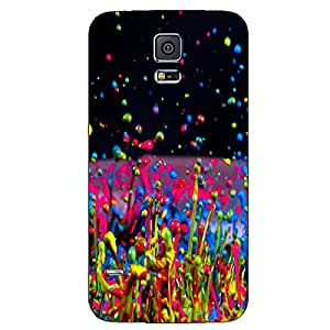 COLOR SPLASH BACK COVER FOR SAMSUNG GALAXY S5