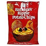 Barbara's Bakery Ripple Potato Chips, 5-Ounce Bags (Pack of 12) ~ Barbara's Bakery