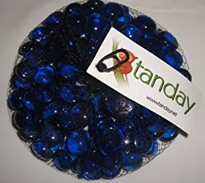 Amazon Tanday 1 Lb Blue Glass Rock Vase Filler