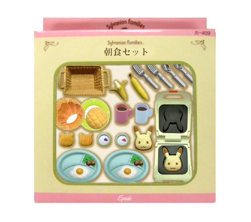 "Epoch Sylvanian Families Sylvanian Family Doll ""Breakfast Set Ka-414"" - 1"