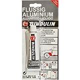 Bindulin SPA 10 Flüssig Gebrauchsfertige Reparaturmasse aus Kunstharzspachtel mit Aluminium, 60 g