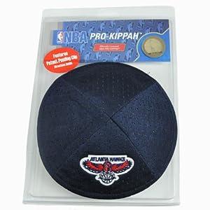 NBA Atlanta Hawks Clip Pro Kippah Kipa Yamaka Jersey Mesh Licensed Yarmulke by Emblem Source
