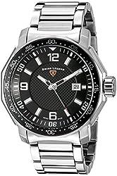 Swiss Legend Men's 16189SM-11 Blue Geneve Stainless Steel Watch