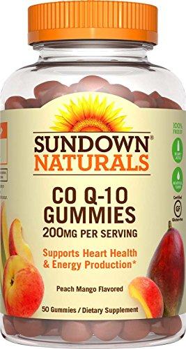Sundown Naturals Co Q-10 200 mg, 50 Gummies (Co Q10 Sundown compare prices)