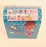 Disney Doc McStuffins 32 Valentines with Heart Seals Plus Keepsake Mailbox