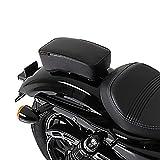 Sozius Sitz-Pad für Harley Davidson Sportster Forty-Eight 48  mit Saugnäpfen schwarz