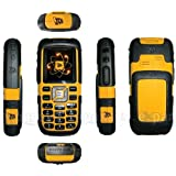 JCB Toughphone by Sonim. Splash, Shock & Dust Resistant (Yellow/Black) UK SIM FREE MODELby JCB