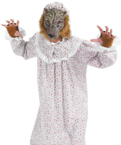 Imagen 2 de Big Bad Wolf - Adult Fancy Dress Costume (disfraz)