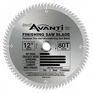 """Freud Avanti TK407 12"""" Finishing Saw Blade Premimum Thin Kerf"""