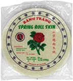 Three Ladies Spring Roll Rice Paper Wrappers (Round 22cm