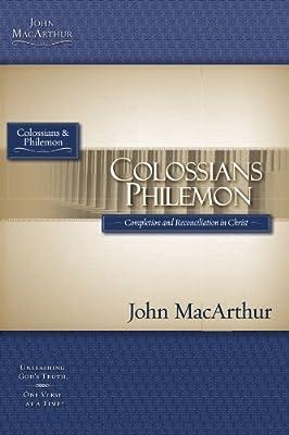 Colossians & Philemon (MacArthur Bible Studies)