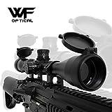 WF ライフルスコープ 3-9x40mm スナイパーライフル 可変ズーム シーグリーンコート バトラーキャップ キルフラッシュ付属 ミドルマウントリング 国内狩猟 実銃対応モデル WRS-1000GH