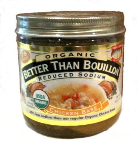 Better Than Bouillon Organic Chicken Base, Reduced Sodium - 16 oz
