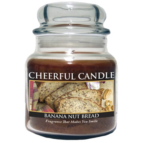 A Cheerful Giver Banana Nut Bread Jar Candle, 16-Ounce (Banana Nut Bread Candle compare prices)