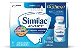 Similac Advance Early Shield Infant Formula with Iron, Ready to Feed, 8-Fluid Ounces (Pack of 24) (Packaging May Vary)