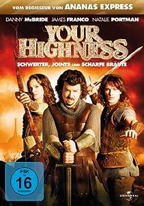Your Highness (DVD) Schwerter, Joints... Schwerter, Joints und scharfe Bräute Min: 98DD5.1WS [Import germany]