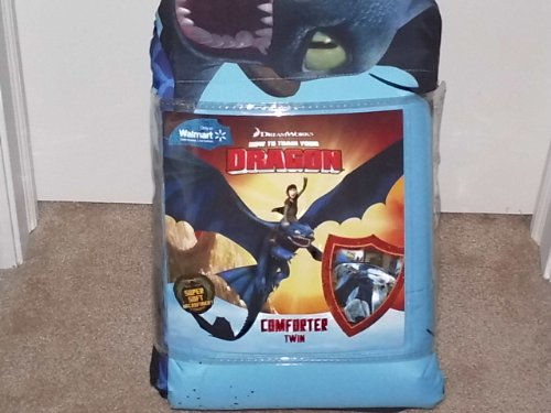 Twin Bed Comforter How To Train Your Dragon