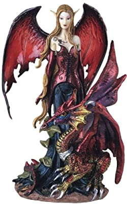 Fairy Collection Pixie with Dragon Fantasy Figurine Figure Decoration from GSC
