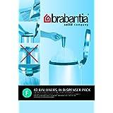 Brabantia Bin Liner F, 20 Litre Slim - 40 Bagsby Brabantia