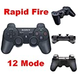 PS3 Rapid Fire Modded Controller 12 Modes Stealth COD4567 Black Ops MW2 MW3 NEW