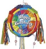 Unique Party Supplies / Zugband-Piñata Bunte Geburtstagsparty