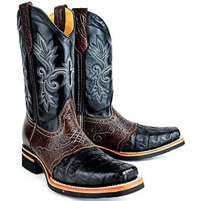 Amazon.com: Original Rodeo Gator (Caiman) Skin Boot: Shoes