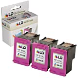 LD © Remanufactured Replacements for Hewlett Packard CC564WN (HP 61XL) Set of 3 High Yield Tri-Color Ink Cartridges for use in the following HP Deskjet, ENVY e-all-in-one, and OfficeJet printers: 1000, 1010, 1050, 1051, 1055, 1056, 1512, 2050, 2510, 2512, 2540, 3000, 3050, 3050A, 3051A, 3052A, 3054, 3056A, 3510, 3511, 3512, 3516, 4500, 4632, 5530, 4630, 4635 ~ LD Products