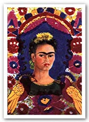 "The Frame by Frida Kahlo 24.1875""x16.625"" Art Print Poster"