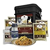 Wise Company 72 Hour Ultimate Dried Food Kit, Black, 13 x 10 x 9-Inch