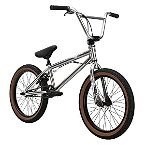 Diamondback Bicycles Youth 2015 Venom Complete Box Bike, Chrome