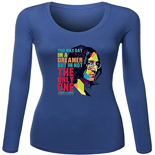 John Lennon The Beatles Iconic Roc For Ladies Womens Long Sleeves Outlet
