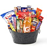 High Energy Snack Food Gift Basket – Great Care Package for College Kids