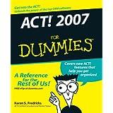 ACT! 2007 For Dummies (For Dummies (Computers)) ~ Karen S. Fredricks