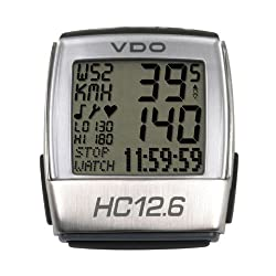 VDO HC12.6 Bike Computer with Heart Rate by VDO