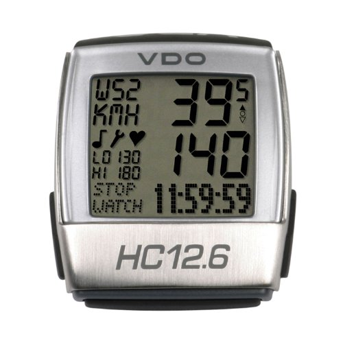 VDO HC12.6 Bike Computer with Heart Rate