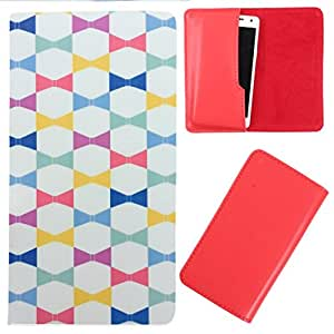 DooDa - For Huawei Ascend Y220 PU Leather Designer Fashionable Fancy Case Cover Pouch With Smooth Inner Velvet