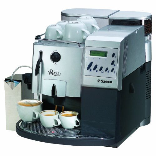 Philips Saeco RI9119/47 Royal Coffee Bar Automatic Espresso Machine, Silver and Graphite
