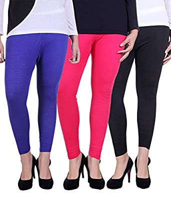 Belmarsh Ankle Length Leggings/Jeggings - Pack of 3